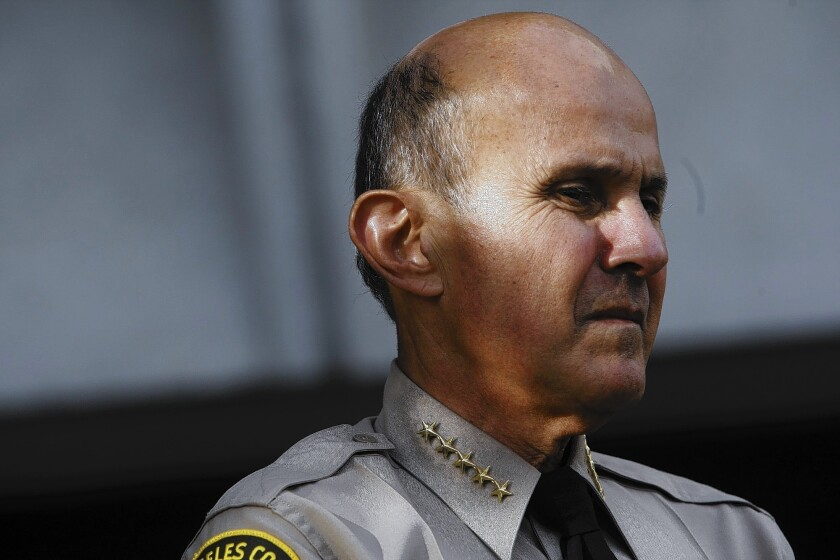 Sheriff's Department admits wrongly hiring problem officers