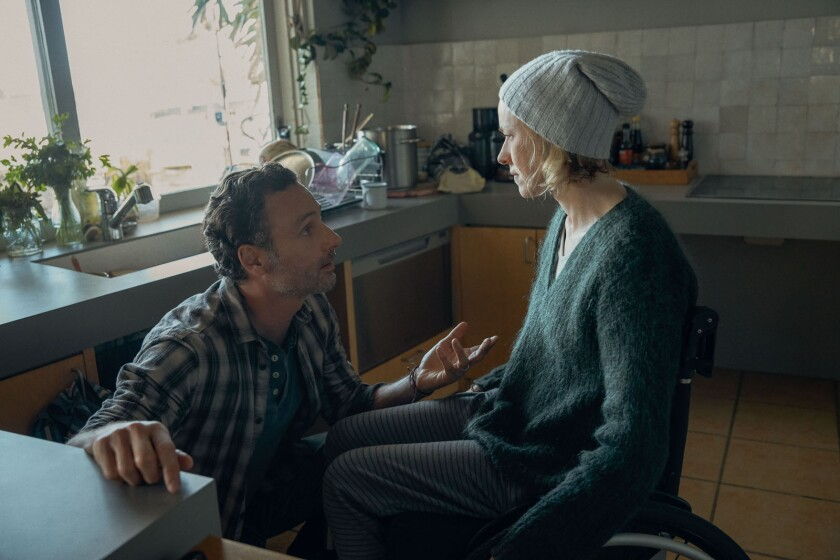 """Andrew Lincoln and Naomi Watts in the movie """"Penguin Bloom."""""""