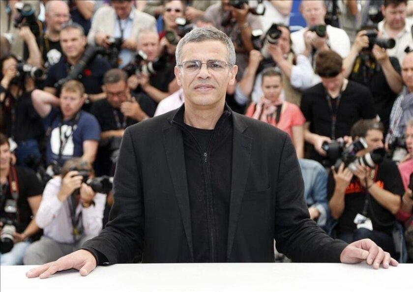 El cineasta tunecino, Abdellatif Kechiche en la 66ª edición del Festival de Cine de Cannes, en Francia. EFE
