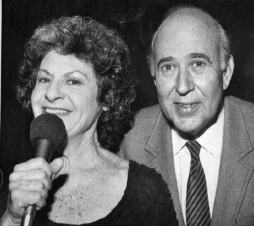 Estelle and Carl Reiner