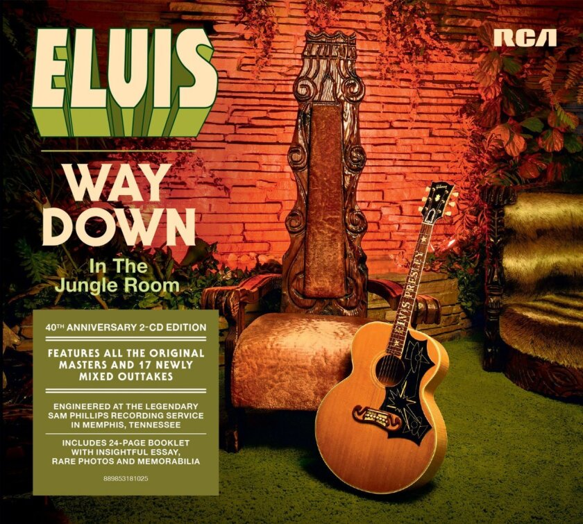 """""""Elvis Presley-Way Down in the Jungle Room"""" gathers 33 tracks Presley recorded at his Graceland home in 1976, the final recording sessions of his life."""
