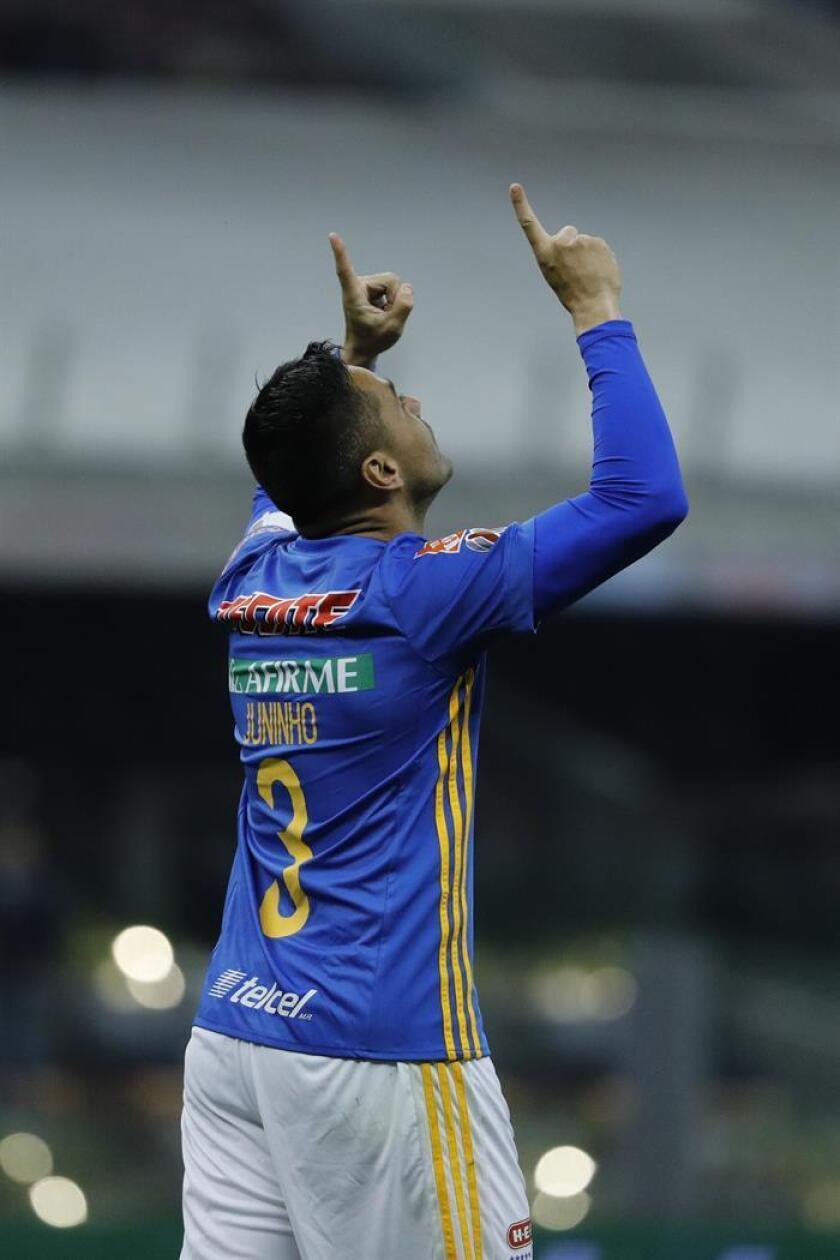 El jugador de Tigres Juninho. EFE/Archivo