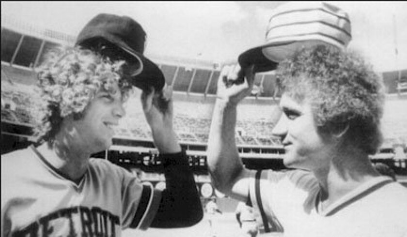 The Tigers' Mark Fidrych and the Padres' Randy Jones were the starting pitchers for the 1976 All-Star Game.