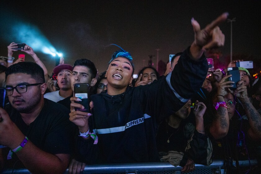Fans at Camp Flog Gnaw