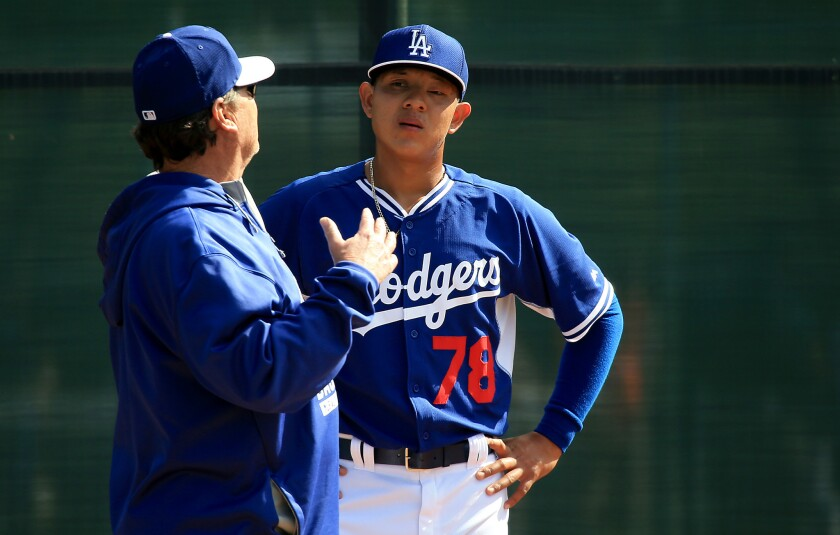 Rick Honeycutt, Julio Urias