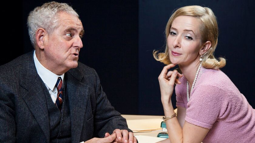 """The Antaeus Theatre Co. is staging Henry Pinter's """"The Hothouse,"""" starring Peter Van Norden and Jocelyn Towne, through Mar. 11."""