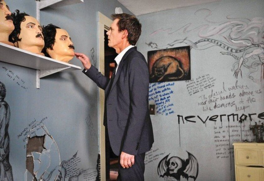 """Ryan Hardy (Kevin Bacon) discovers the cult house in """"The Following."""""""