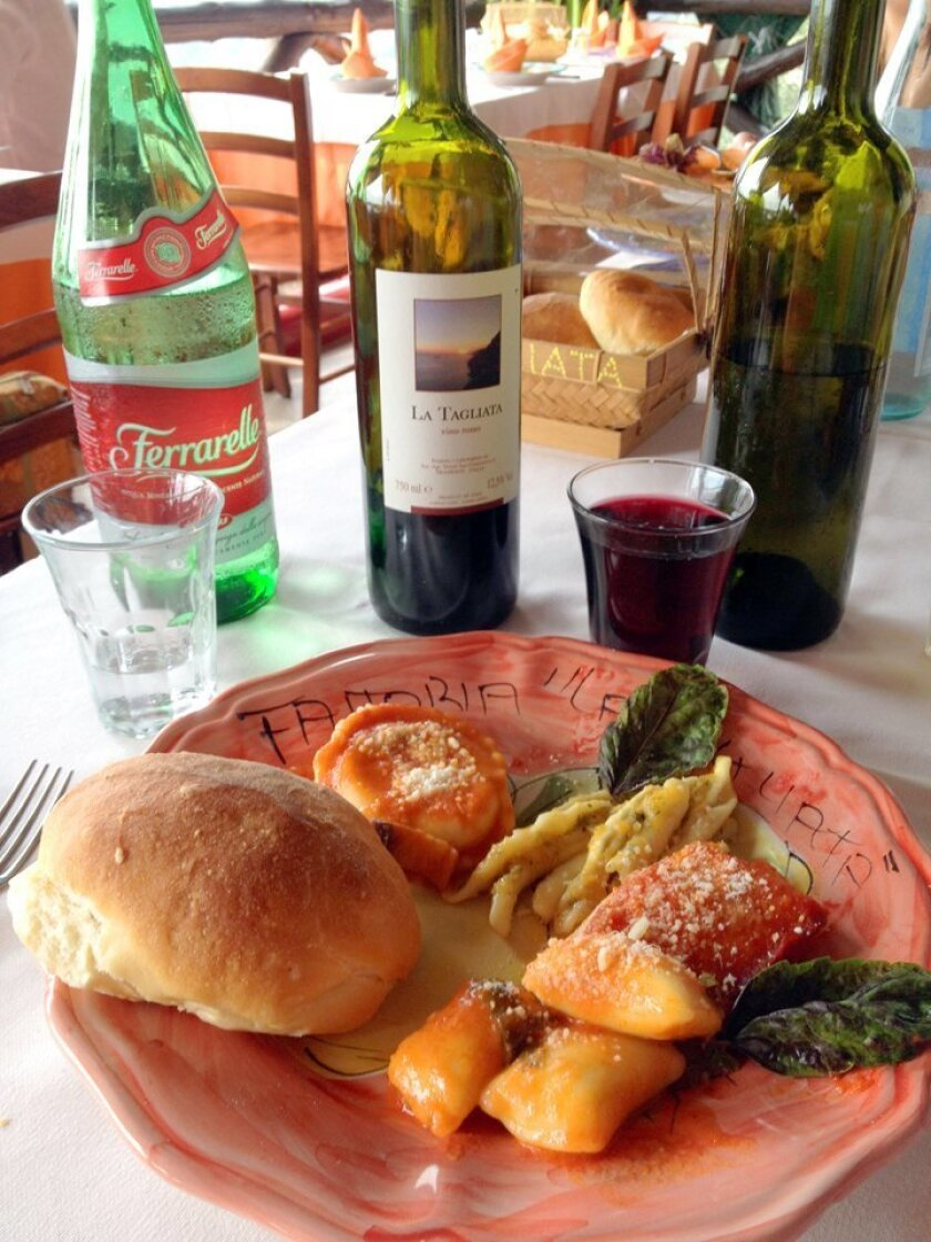 Best Food Photo — Winner: 'Amalfi Lunch — The Best!' by Chris Cott for the LaJollaLight.com monthly photo contest