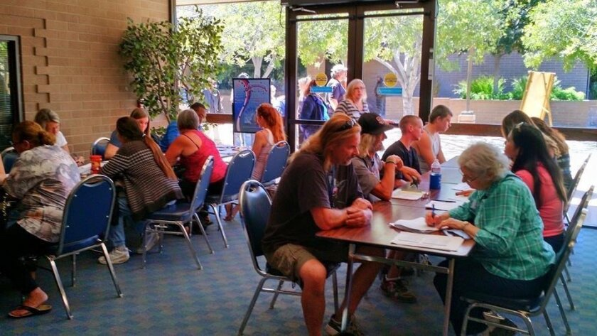 Project Homeless Connect in El Cajon helped more than 100 people with everything from identification cards to housing opportunities.