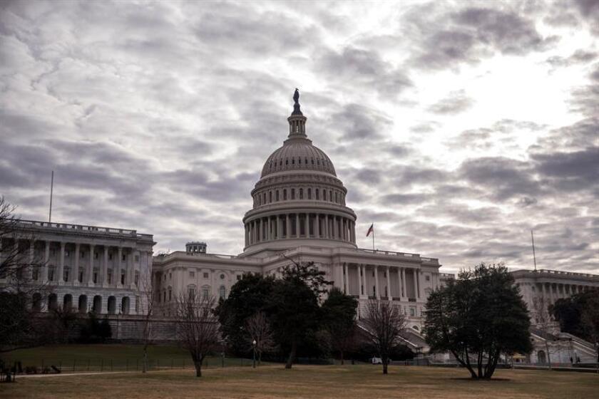 Vista del exterior del Capitolio en Washington DC, Estados Unidos. EFE/Archivo