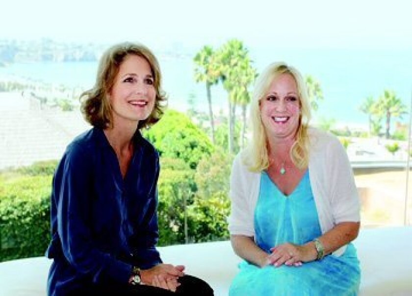 Debby Fishburn and Lise Wilson are heading up the Voices for Children gala that will raise funds to support its Court Appointed Special Advocates (CASA) program.  Kathy Day photo