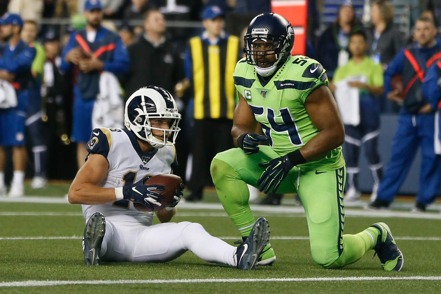 Rams Vs Seahawks A Look At How The Teams Match Up Los Angeles Times