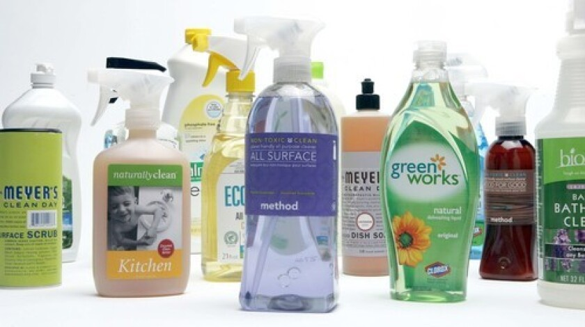 GOING GREEN: The number of cleaning products that use gentler chemicals or eco-friendly ingredients is growing, but going the homemade route could be greener — and less expensive.