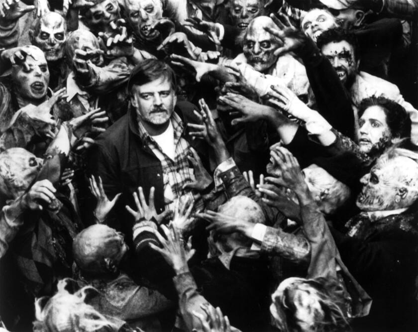 Director George Romero in 1984.