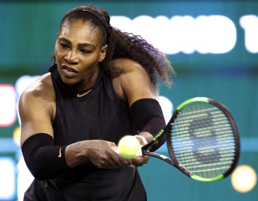 Serena Williams debuta con victoria y Verdasco avanza a segunda ronda