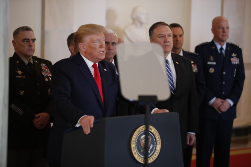 Read President Trump's full remarks on the Iranian missile attacks ?url=https%3A%2F%2Fcalifornia-times-brightspot.s3.amazonaws.com%2F25%2F9d%2Fc6ade1234c69ba814f57b3ad7504%2Fapphoto-trump