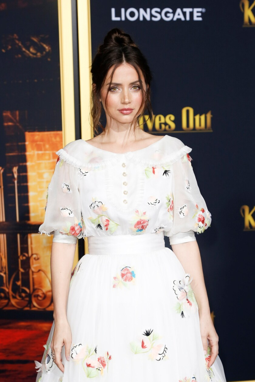 Premiere of the movie 'Knives Out' in Los Angeles