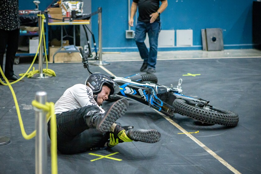 """An unidentified Cirque du Soleil performer crashed in June during a media preview for """"R.U.N.,"""" the company's new action thriller, in Montreal, where the show was developed in advance of its Las Vegas premiere. ."""