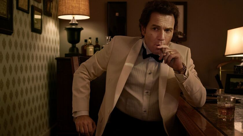 "Ewan McGregor as Emmit Stussy in a scene from FX's ""Fargo."""