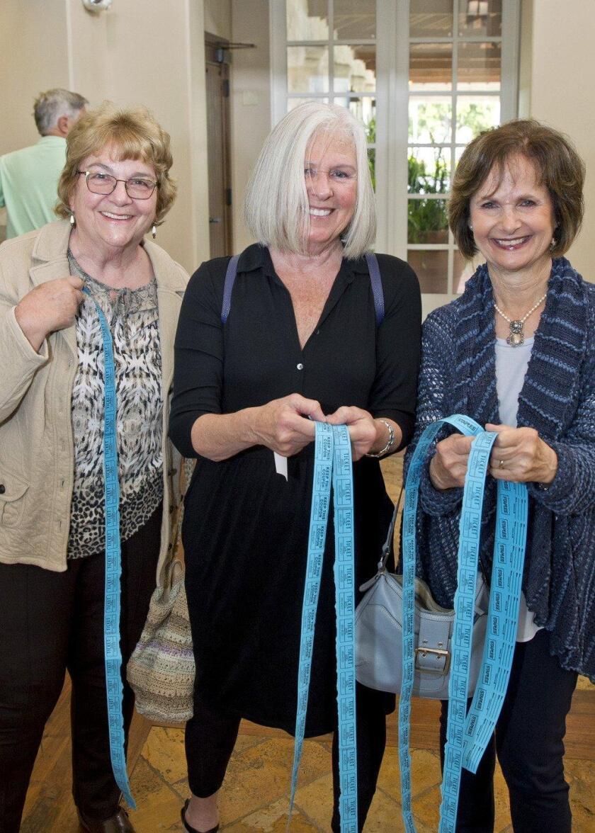 Joyce Bassett, Jackie Rodarte, Jane Grushkin