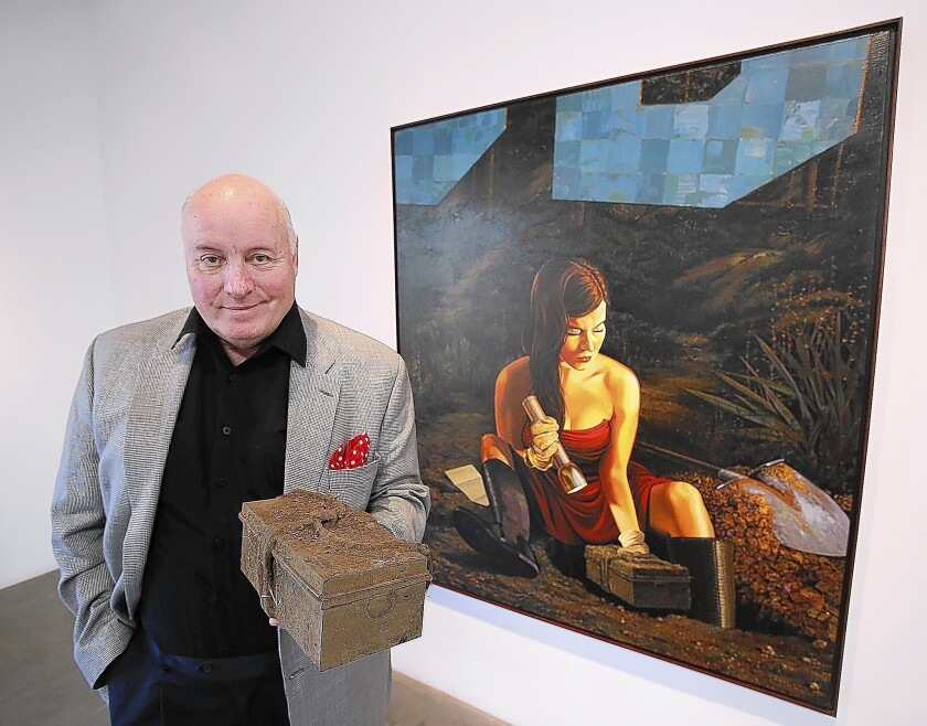"""""""My work has an undercurrent of love, jealousy, loneliness, murder,"""" Mark Stock once said."""