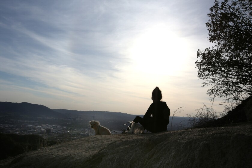 Hiking Wildwood Canyon Park: It's a short, steep hike with sweeping views of Glendale and Burbank.