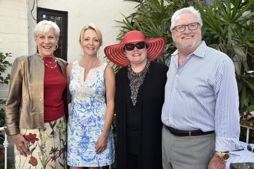 The Country Friends President Deborah Cross, Myrna Everett, Jean Waters, Les Cross