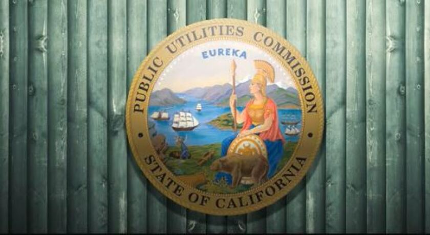Seal of the California Public Utilities Commission.