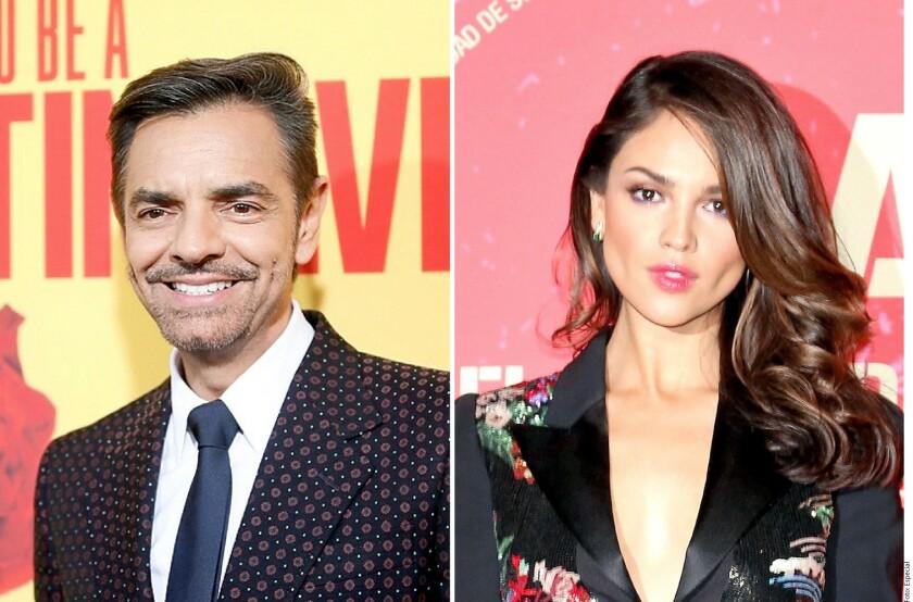 Eugenio y Eiza reaccionan tras la designación de su participación en los Oscar.