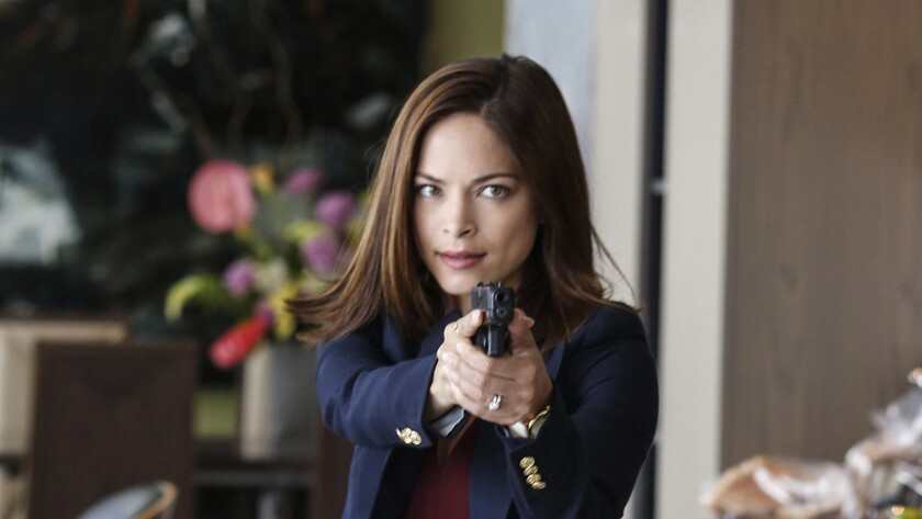"""There may be some big news for Cat (Kristin Kreuk) in a new episode of the CW's fantasy drama """"Beauty and the Beast"""" on KTLA."""