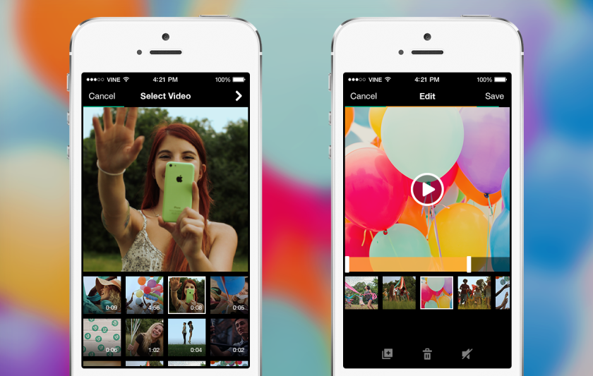Vine has introduced a new import feature that will make it possible for users to share higher-quality videos.