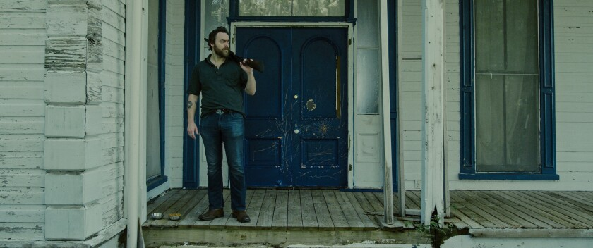 """Jeremy Gardner portrays a small-time bar owner stalked by his demons in """"After Midnight."""" He also wrote the screenplay and co-directed."""