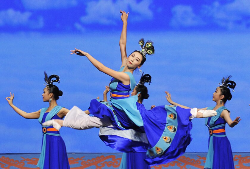 """""""Shen Yun 2019"""" is the national touring company's latest celebration of traditional Chinese culture, music and dance."""