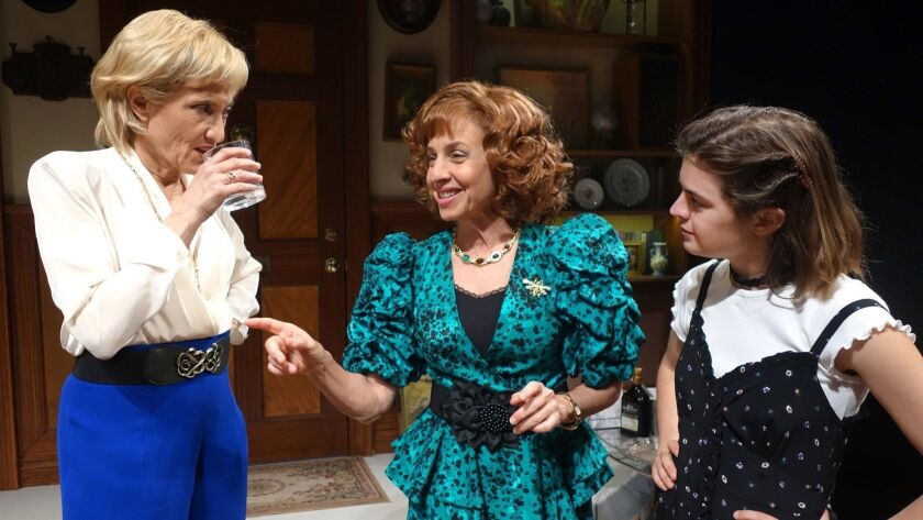 """South Coast Repertory presents """"The Sisters Rosensweig"""" by Wendy Wasserstein, directed by Casey"""
