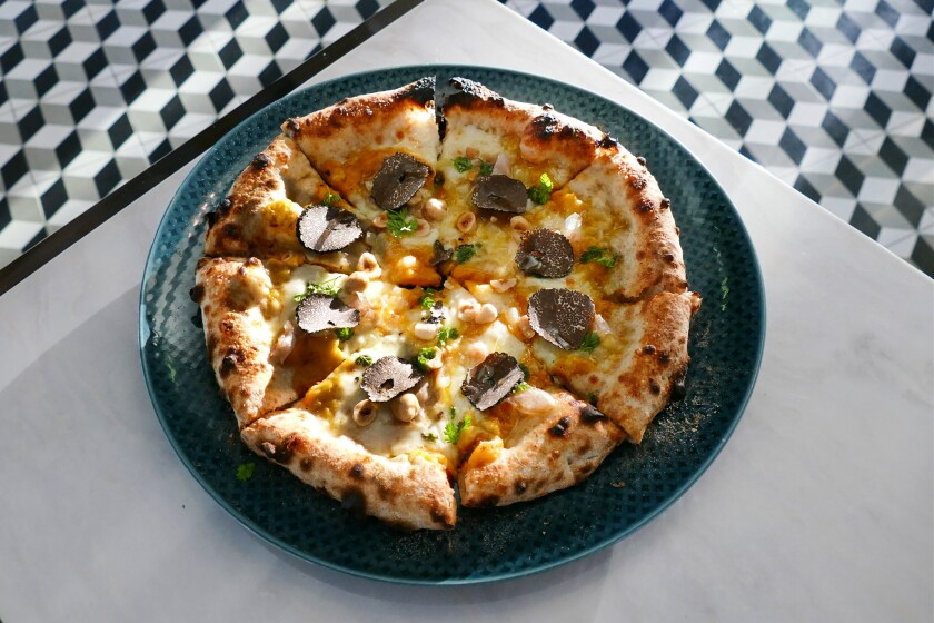Il Dandy's gloriously gourmet Buongustaia pizza , with pumpkin, guanciale, fresh truffle, hazelnuts and percorino, helped propel the Bankers Hill restaurant to our No. 2 spot on the Top 10 San Diego Pizzas list. Some readers had their own suggestions on what should have made the list.