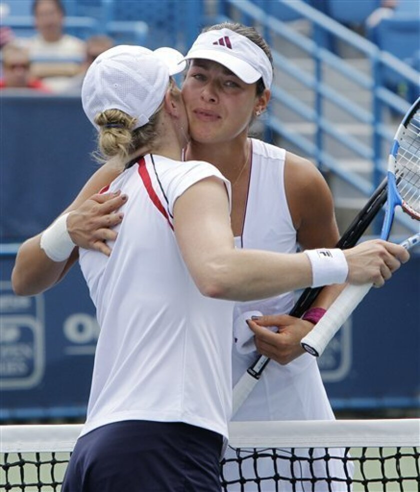 Ana Ivanovic Feet ivanovic's foot injury puts clijsters in final - the san