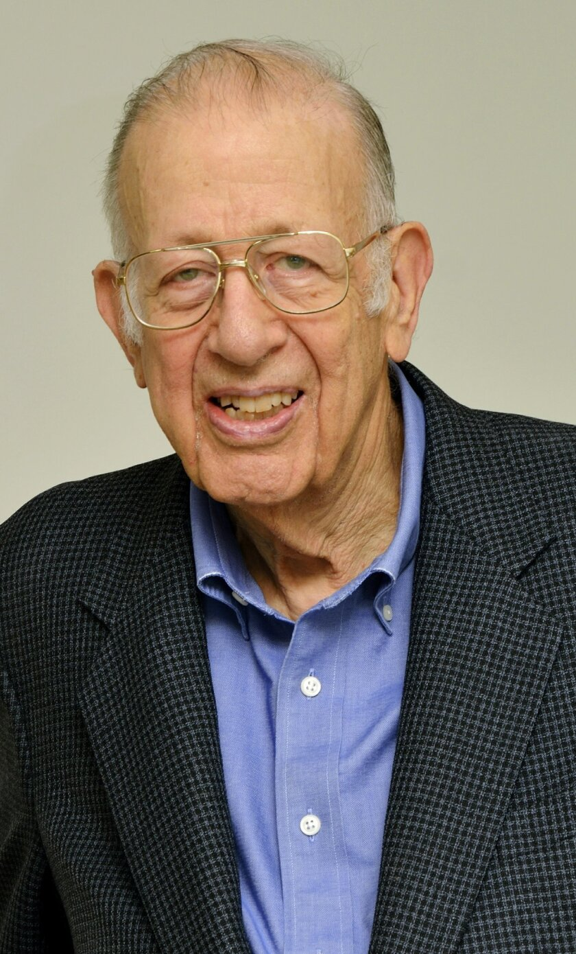 """This undated photo provided by Jeffrey Belth shows Joseph M. Belth, a professor emeritus of insurance at Indiana University. Belth has been an outspoken critic of the practice of """"shadow insurance,"""" in which life insurers create subsidiaries to take on some of their liabilities. He calls the practi"""