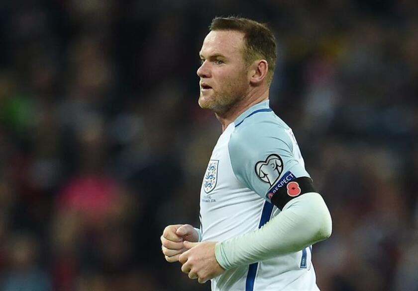 El delantero inglés Wayne Rooney. EFE/Archivo
