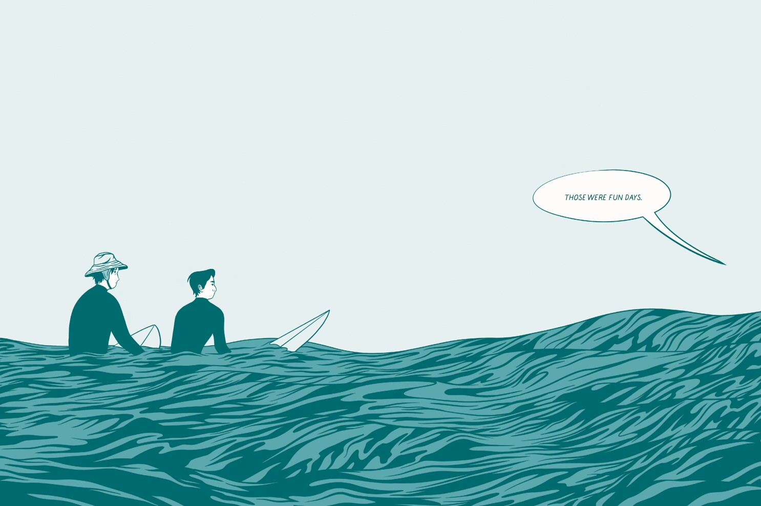 Review: A lover of surfing, AJ Dungo finds connection and solace in 'In Waves'