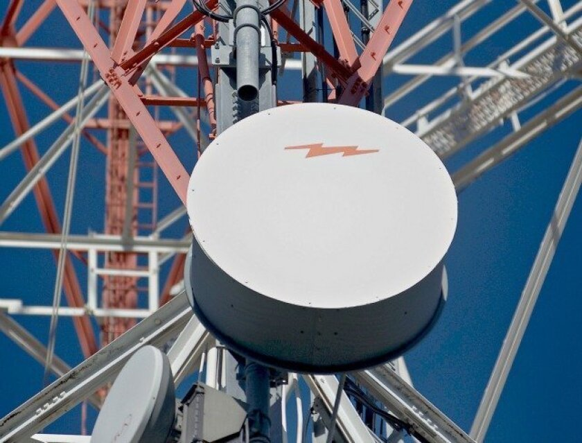 Rapid growth in video and Internet use by smartphone and tablet owners could overwhelm airwaves carrying wireless signals — Wire Service Photo