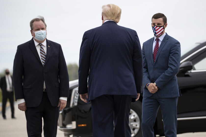 President Trump in Michigan