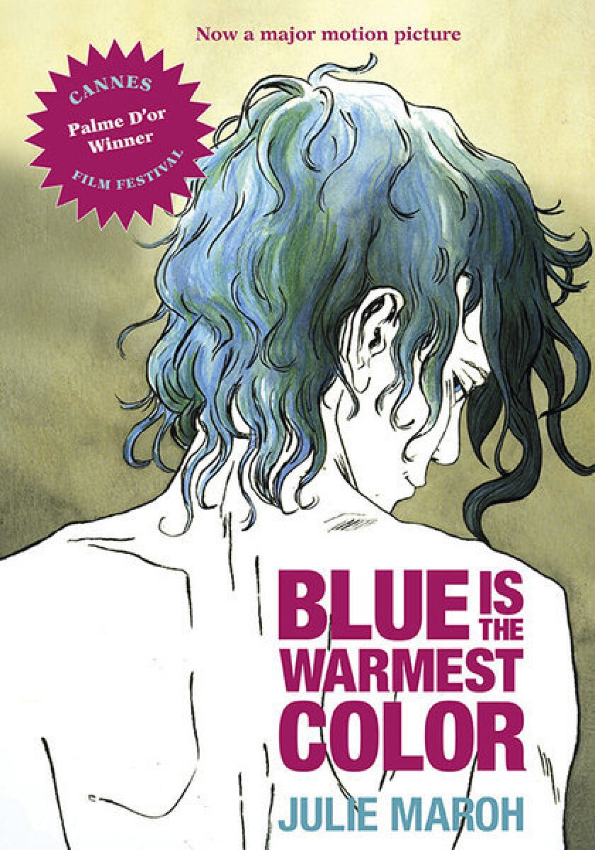 """The cover of the upcoming English version of the graphic novel """"Blue Is the Warmest Color."""""""