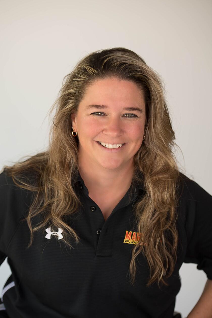 Carlsbad High School Athletic Director Amanda Waters