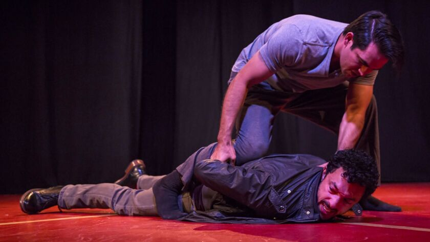 Miracles' beloved Mariano -- portrayed by Wade Allain-Marcus, on the ground -- comes out on the losi