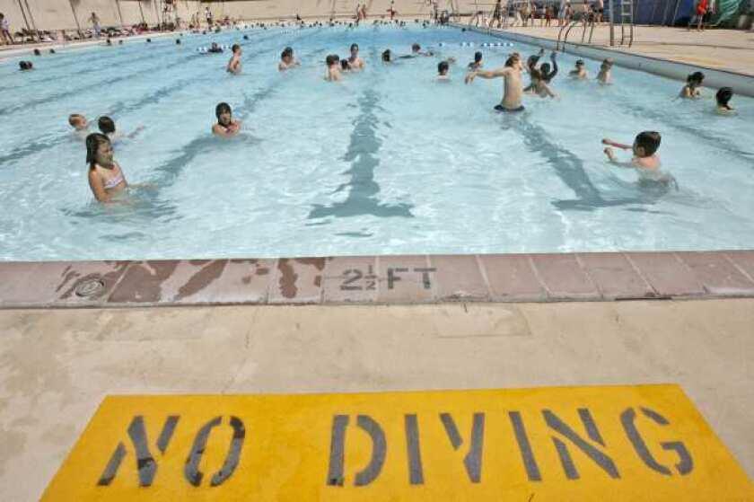 Burbank awarded $7,000 grant for swim classes, events