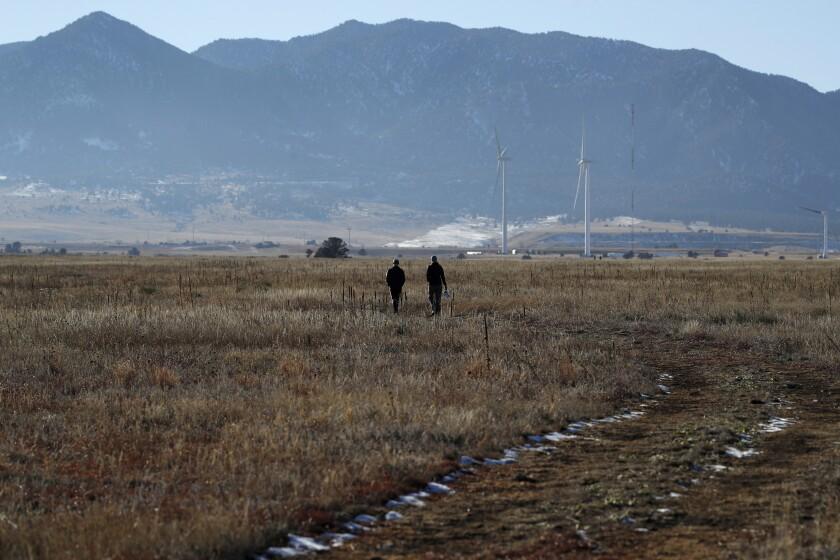 Rocky Flats National Wildlife Refuge near Denver