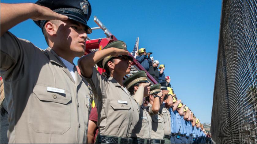 Ventura County Sheriff's cadets