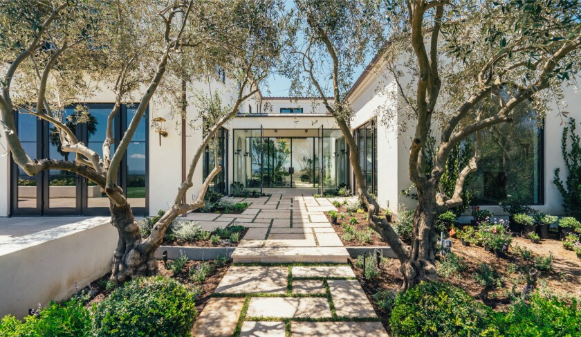 This Brentwood home, set on nearly two acres, sold for $28.5 million.