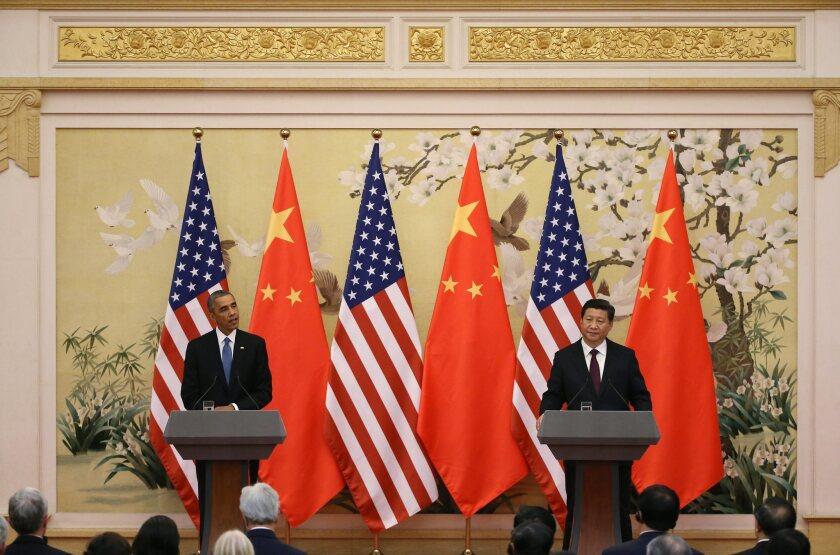 President Obama, Xi Jinping
