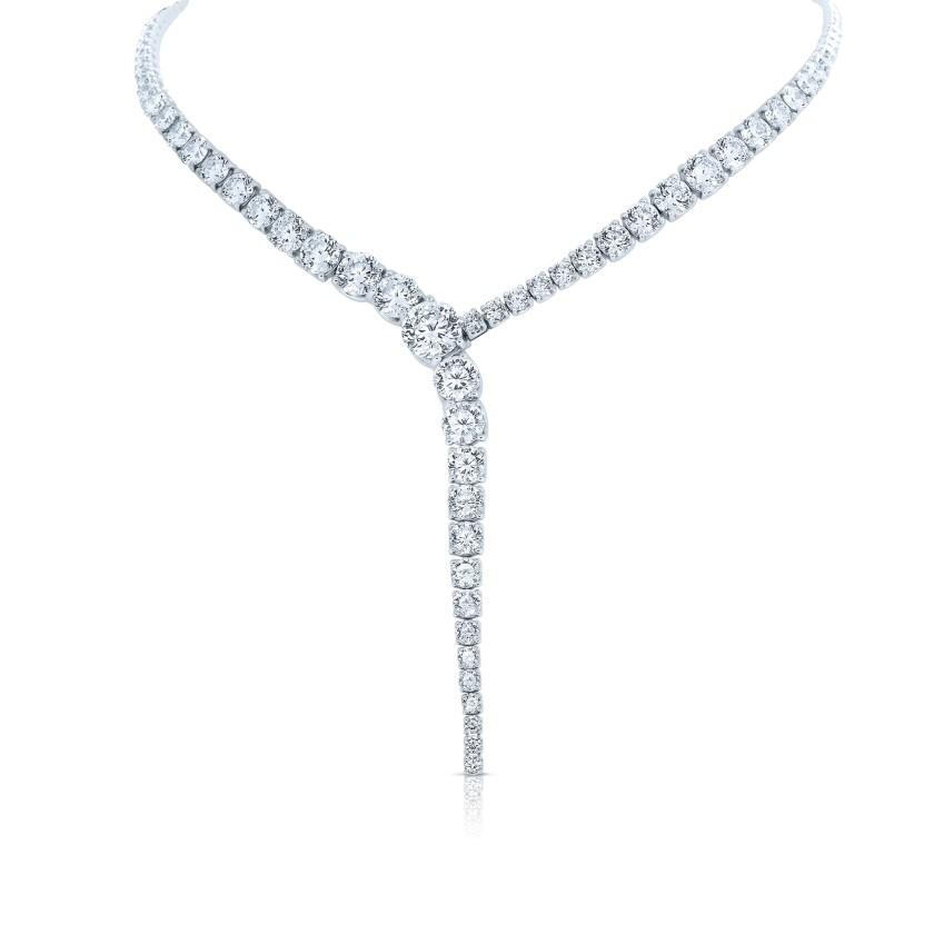 A 120-carat diamond necklace from Roberto Coin